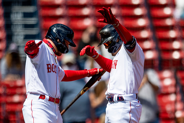 Home runs from Kiké Hernández, Alex Verdugo, J.D. Martinez power Red Sox to 11-4 win over White Sox on Patriots'Day