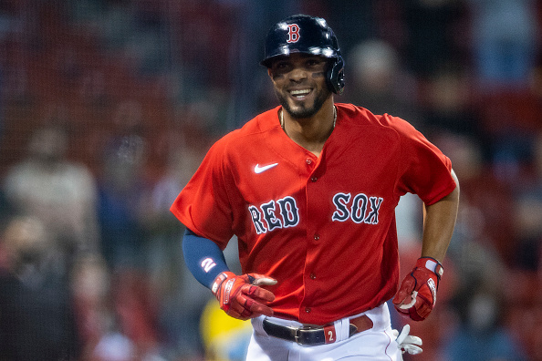 Xander Bogaerts hits first home run of season, Eduardo Rodríguez punches out 6 in return to Fenway Park as Red Sox top Blue Jays,4-2