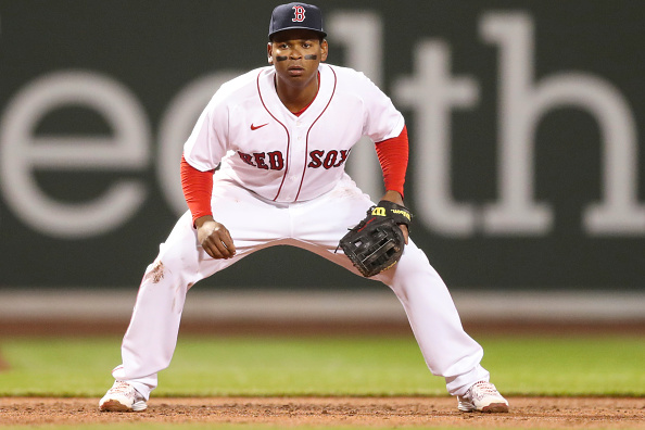 Rafael Devers turns impressive double play to get Red Sox out of early trouble Sunday