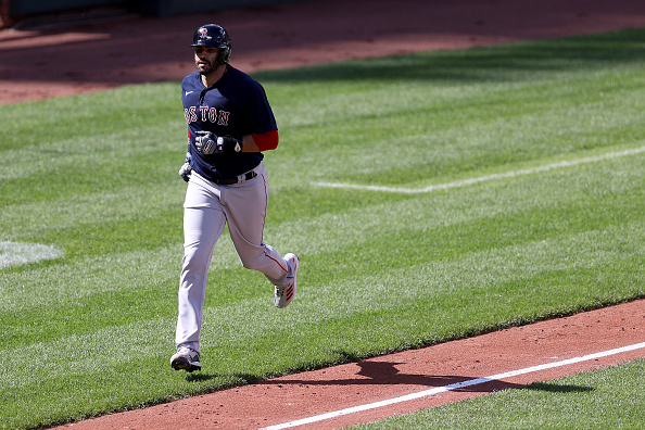 Red Sox slugger J.D. Martinez named American League Player of theWeek