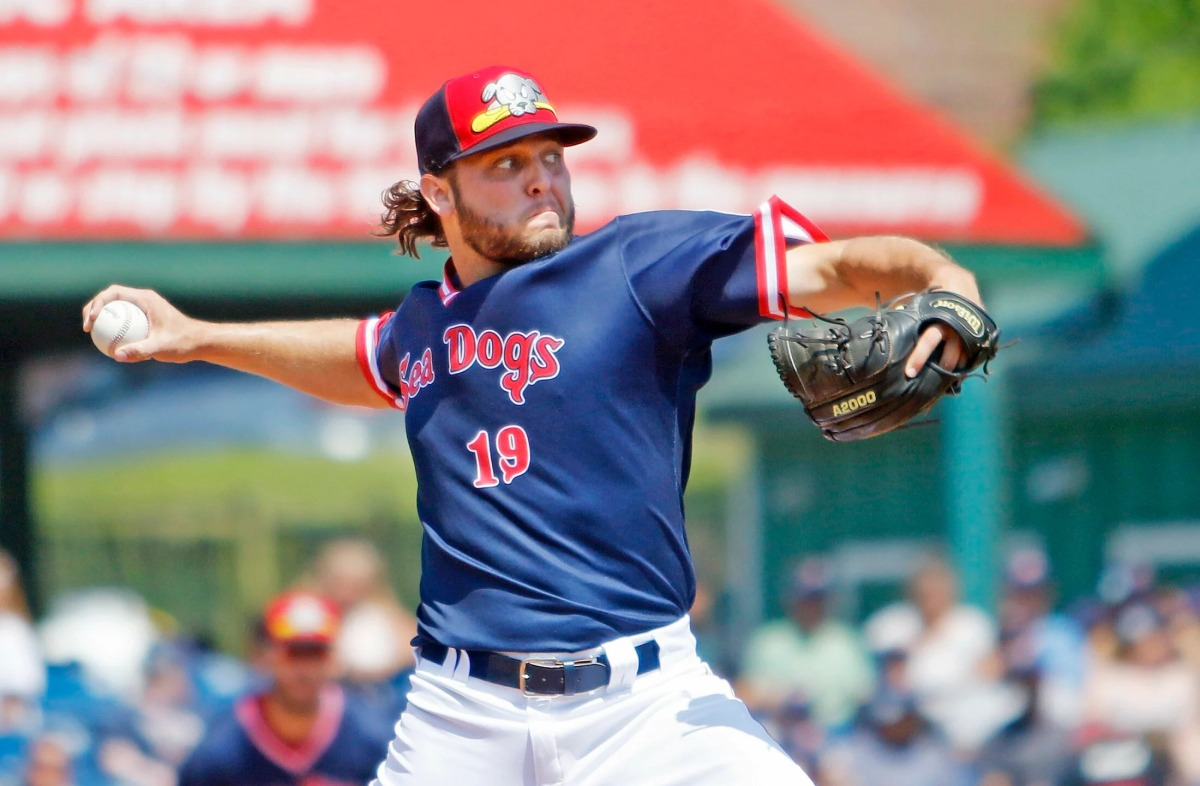 Red Sox prospect Kutter Crawford tosses four scoreless innings for Double-A Portland in first start back from Tommy John surgery