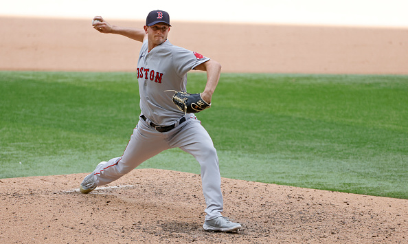 Red Sox' Garrett Whitlock finally gives up first run of season after tossing 13 1/3 scoreless innings to begin career: 'He's only human, man,' Alex Corasays