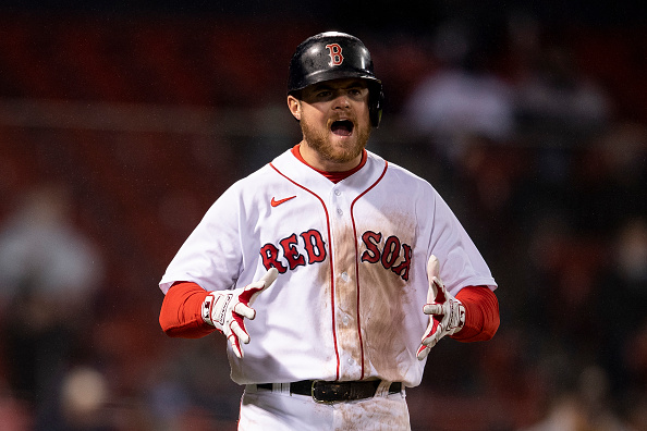Red Sox injuries: Alex Verdugo scratched from Wednesday's lineup due to tight back, Christian Arroyo removed after being hit in hand bypitch