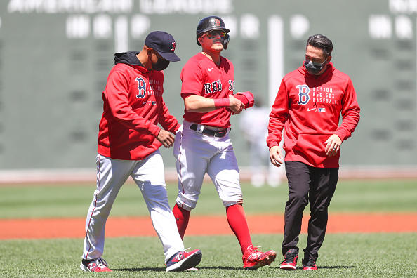 Red Sox place Kiké Hernández (hamstring strain) on injured list, recall Michael Chavis from Triple-AWorcester