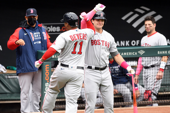Rafael Devers and Hunter Renfroe power Red Sox to 4-3 win over Orioles