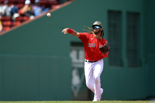 Red Sox option Jonathan Araúz to Triple-A Worcester; Kiké Hernández (right hamstring strain) expected to be activated from injured listTuesday