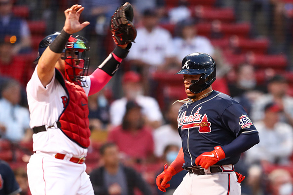 Red Sox held to just 3 hits by Charlie Morton in 3-1 loss toBraves