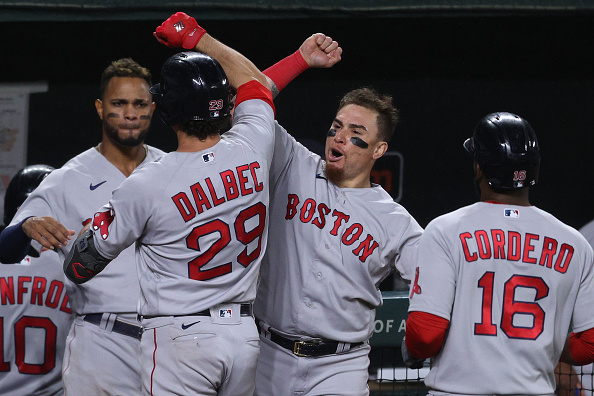 Bobby Dalbec breaks out of slump with 3-run home run as Red Sox open series against Orioles with 6-2 win