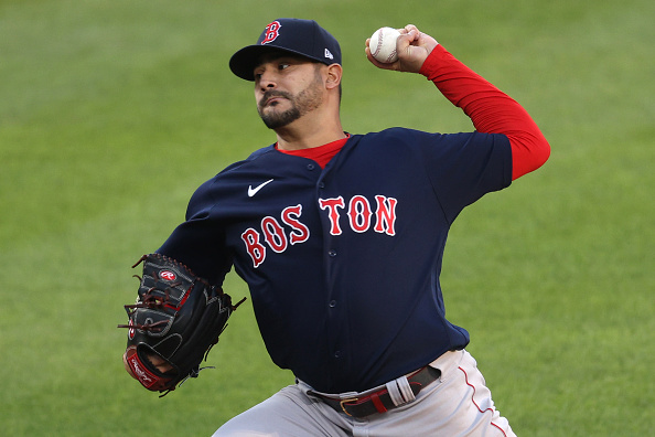 Martín Pérez tosses 5 solid innings, but Red Sox are limited to just 4 hits in 4-1 loss to Orioles