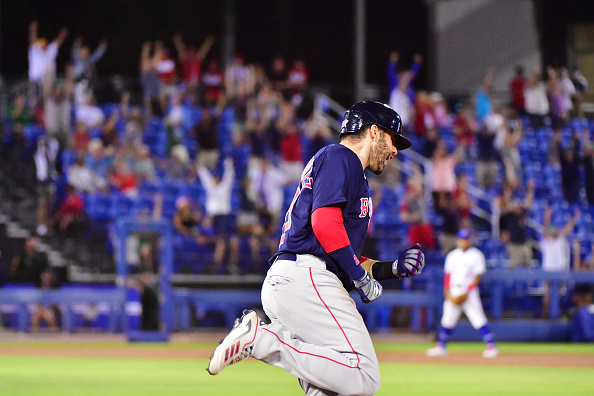J.D. Martinez delivers in clutch as slugger's 250th career homer lifts Red Sox to 8-7 victory over BlueJays