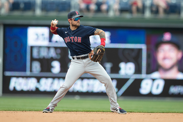 Red Sox option Michael Chavis to Triple-A Worcester; Christian Arroyo (left hand contusion) expected to be activated from injured listTuesday