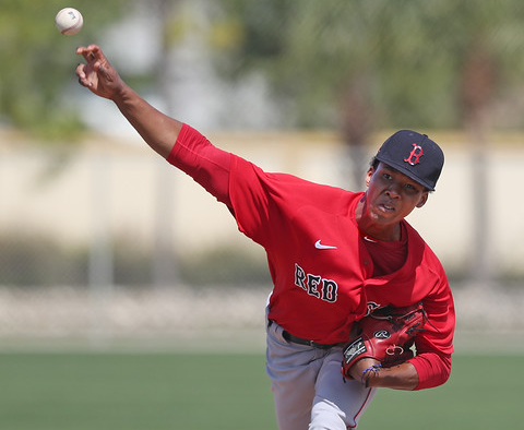 Red Sox promote electric pitching prospect Brayan Bello to Double-APortland