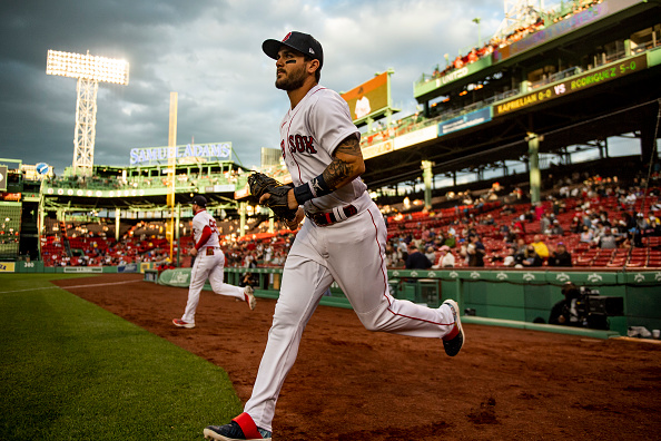 Red Sox recall Michael Chavis from Triple-A Worcester, designate Ryan Weber forassignment