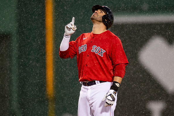 J.D. Martinez returns to Red Sox lineup, batting cleanup in series opener againstAstros