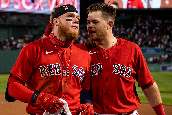Christian Arroyo ties it and Alex Verdugo walks it off as Red Sox rally to defeat Blue Jays,6-5