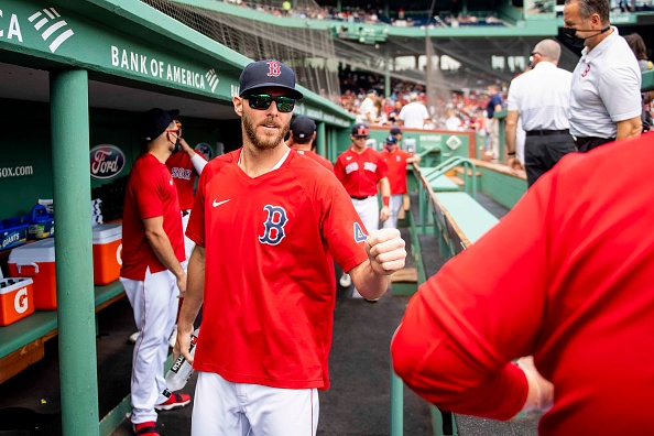 Red Sox' Chris Sale faces live hitters at Fenway Park for first time since undergoing Tommy Johnsurgery