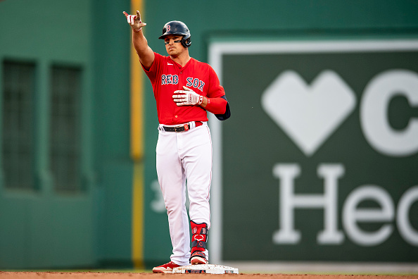 Hunter Renfroe drives in two runs, records 11th outfield assist as Red Sox hold on to top Yankees,5-3