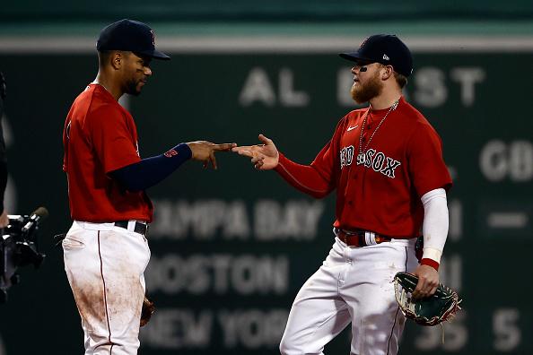 Red Sox' Xander Bogaerts, Rafael Devers, J.D. Martinez, and Alex Verdugo named All-Starfinalists