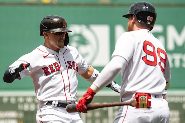 Kiké Hernández thrives in return to leadoff spot as Red Sox clobber Gerrit Cole, finish off sweep of Yankees with 9-2win