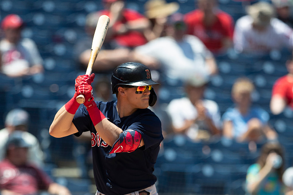 Red Sox lineup: Kiké Hernández dropped down to seventh for Game 2 against Yankees, J.D. Martinez scratched due to sore leftwrist