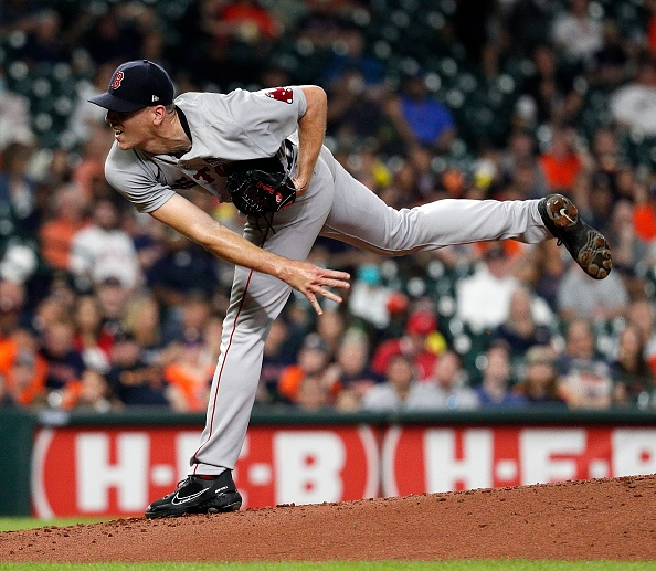 Lifeless Red Sox drop third straight to Astros, 2-1; Nick Pivetta hit with first loss of season despite striking out 9 over 6innings
