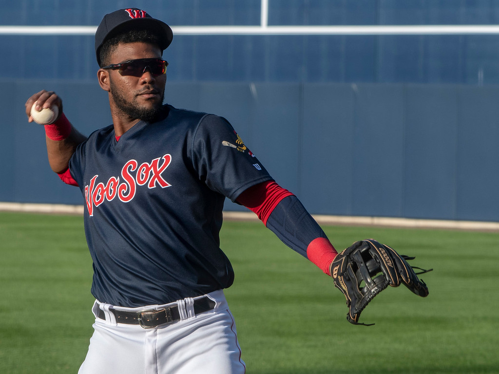 Red Sox' Franchy Cordero finding success with regular playing time at Triple-A Worcester: 'We're glad he's been able to take advantage of it so far,' Chaim Bloomsays