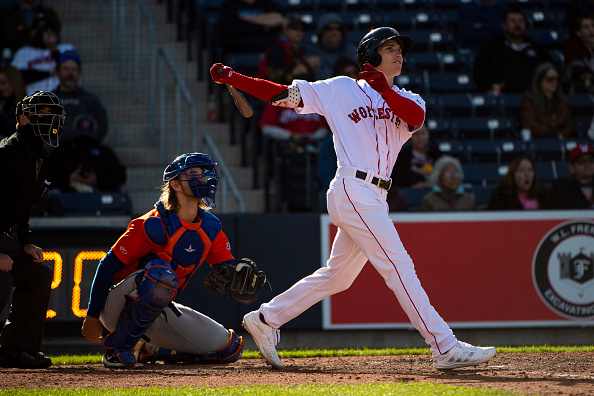 Red Sox prospect Jarren Duran scratched from Triple-A Worcester's lineup due to lower-backtightness
