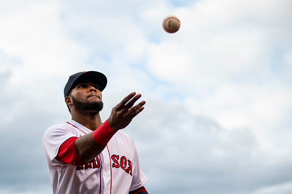 Red Sox place Danny Santana on injured list with left groin strain, recall Franchy Cordero from Triple-AWorcester