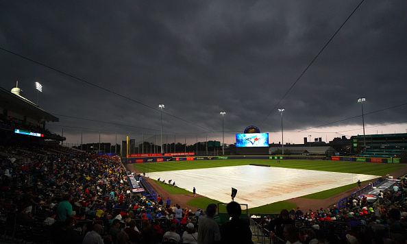 Tuesday's Red Sox-Blue Jays game postponed due to thunderstorms in Buffaloarea