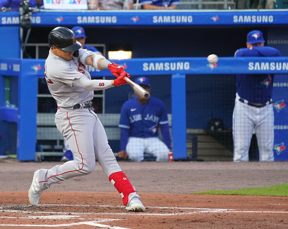 Red Sox crush 5 homers en route to 7-4 win to finish off sweep of Blue Jays inBuffalo