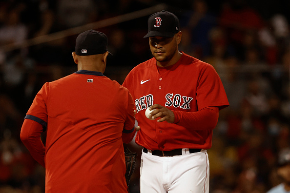 Eduardo Rodriguez gets rocked for 6 runs as lifeless Red Sox get blown out by Blue Jays, 13-1, in seriesfinale