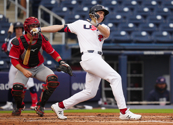 Red Sox minor-leaguers Triston Casas, Jack Lopez named to Team USA's Olympicroster