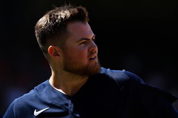 Red Sox' Christian Arroyo set to make first career start at first base in series finale againstYankees