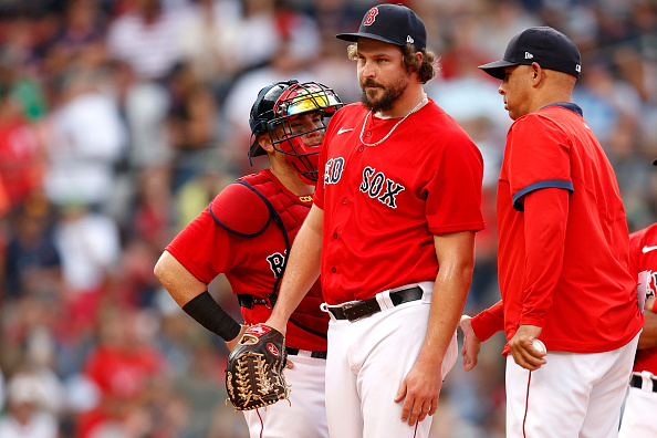 Red Sox bullpen experiences eighth-inning meltdown in 11-2 loss toPhillies
