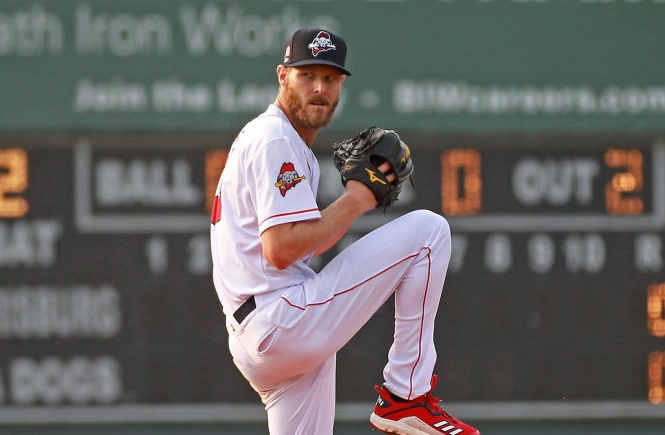 Red Sox' Chris Sale dominates with 6 strikeouts over 3 2/3 scoreless, no-hit innings in rehab start for Double-APortland