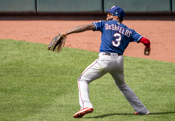 Red Sox' Delino DeShields Jr. had eventful first weekend with Triple-AWorcester