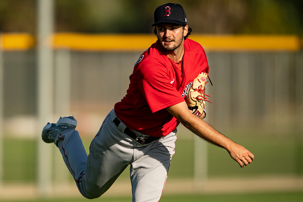 Red Sox pitching prospect Connor Seabold strikes out 10 over 6 scoreless innings for Triple-AWorcester