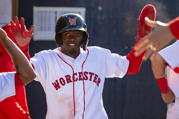 Red Sox lose outfield prospect Marcus Wilson on waivers toMariners