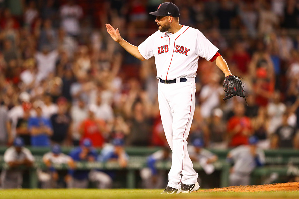 Red Sox closer Matt Barnes tests negative for COVID-19, could be activated for Wednesday's game againstTigers