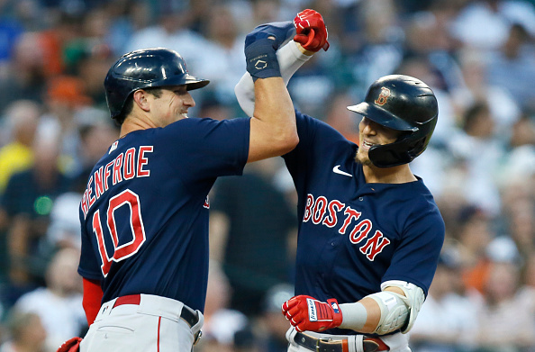 Red Sox crush 3 homers, punch out season-high 18 batters in 4-1 win over Tigers to snap 5-gameskid