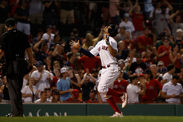 Red Sox break out for season-highs in runs and hits in 20-8 thrashing of Rays; Nathan Eovaldi allows just 1 run over 7 stronginnings