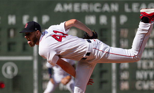 Chris Sale strikes out 8 over 5 solid innings in triumphant return to mound as Red Sox cruise past Orioles,16-2