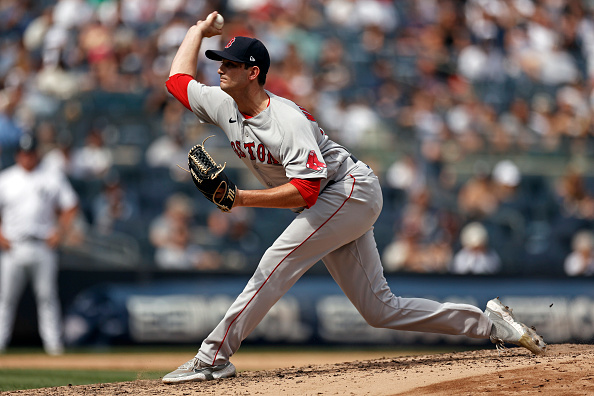 Red Sox bullpen combines to walk 6 batters in 5-3 loss to Yankees in Game 1 ofdoubleheader