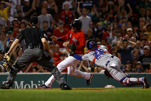 Red Sox commit season-high 5 errors in ugly 10-1 loss toRangers