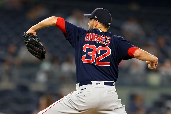 Red Sox activate Matt Barnes from COVID-19 related injured list, option Jonathan Araúz to Triple-AWorcester