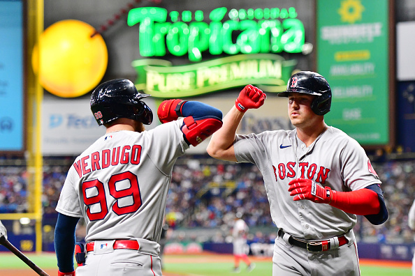 Red Sox swept by Rays following 3-2 defeat; Boston extends losing streak to season-high 4 straightgames