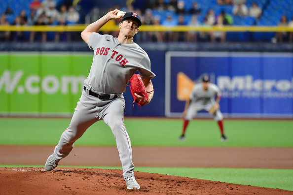 Red Sox muster just 6 hits in quiet 6-1 loss toRays