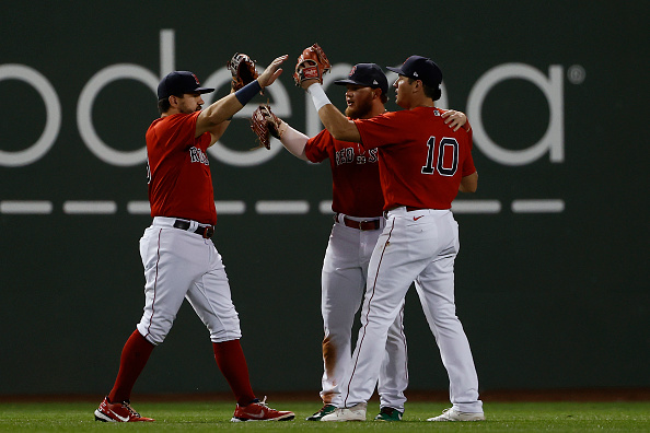 Red Sox mash 4 homers, hold on to 8-5 victory over Indians for third straightwin