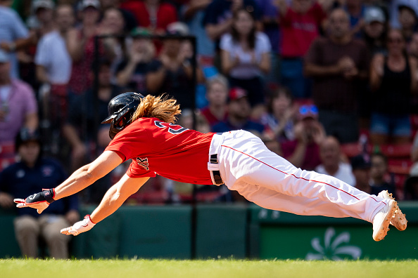 Red Sox outright Taylor Motter to Triple-A Worcester after infielder clearswaivers