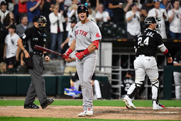 Bobby Dalbec homers once again, but Red Sox fall short, 4-3, in series opener against WhiteSox